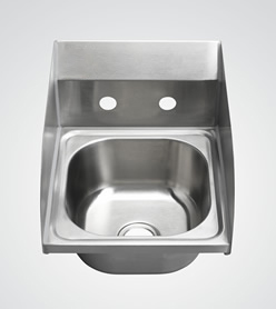 Hand Sink with Side Splashes